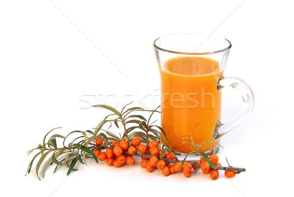 sallow thorn juice 03 Stock photo © LianeM