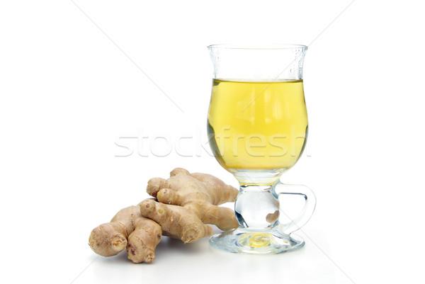 tea ginger 02 Stock photo © LianeM