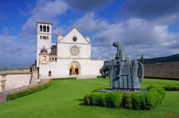 Stock photo: Assisi church