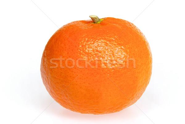 Mandarina aislado naturaleza color tropicales amarillo Foto stock © LianeM