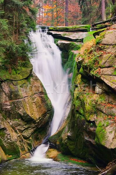 waterfall Kochel 01 Stock photo © LianeM