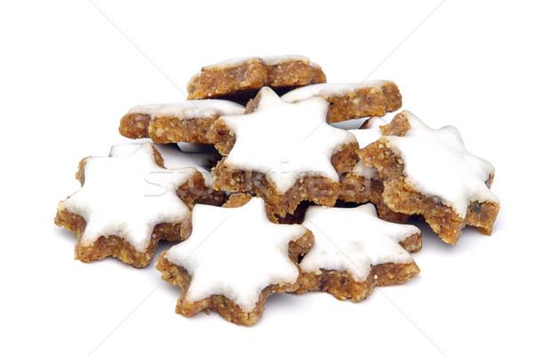 star-shaped cinnamon biscuit 02 Stock photo © LianeM
