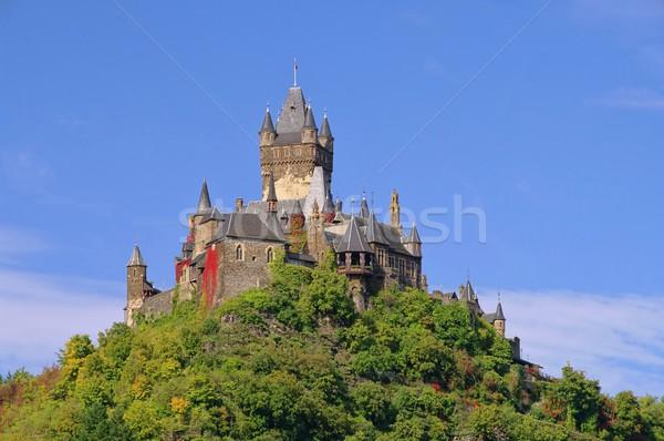 Castelo 18 montanha gótico Foto stock © LianeM