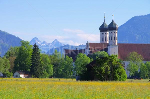 Benediktbeuern abbey Stock photo © LianeM