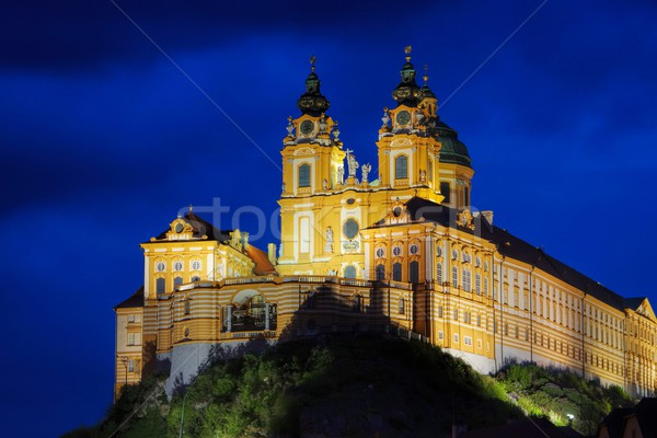 Melk by night  Stock photo © LianeM