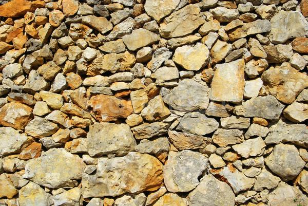 Bruchsteinmauerwerk - quarry 08 Stock photo © LianeM