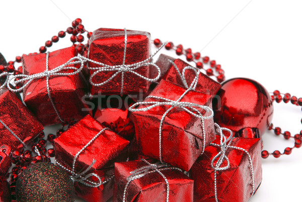 Geschenk freigestellt - gift isolated 0 Stock photo © LianeM