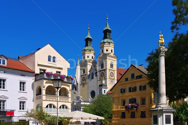 Brixen - Bressanone in Alto Adige Stock photo © LianeM