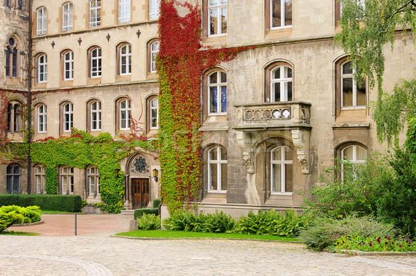 Schulpforte abbey 03 Stock photo © LianeM