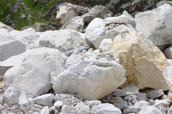 Carrara  marble stone pit 25 Stock photo © LianeM