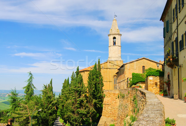 Pienza cathedral 08 Stock photo © LianeM