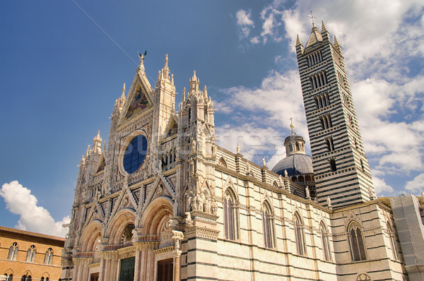 Siena cathedral 01 Stock photo © LianeM