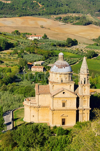 Montepulciano church 05 Stock photo © LianeM