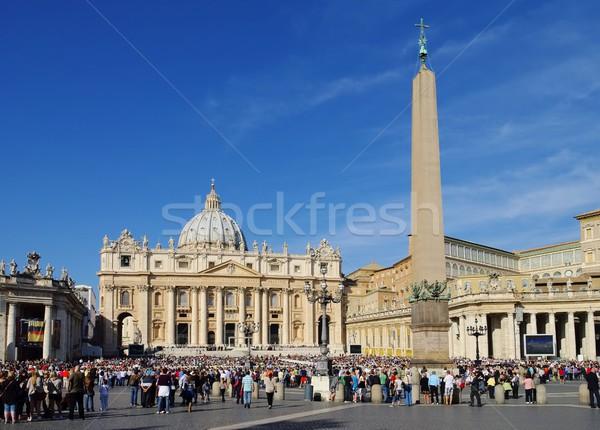 Rome basilique saint maison ville colonne Photo stock © LianeM
