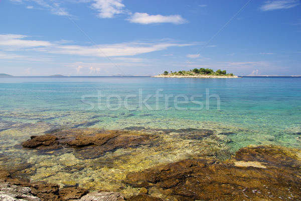 Murter island before the island 21 Stock photo © LianeM