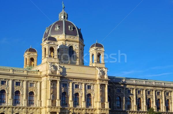 Wenen natuurlijke geschiedenis museum Stockfoto © LianeM