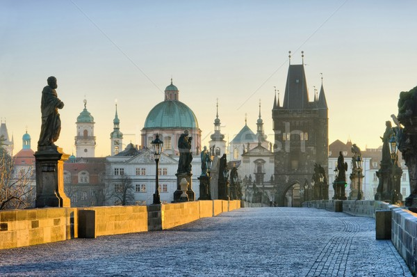 Charles Bridge  Stock photo © LianeM