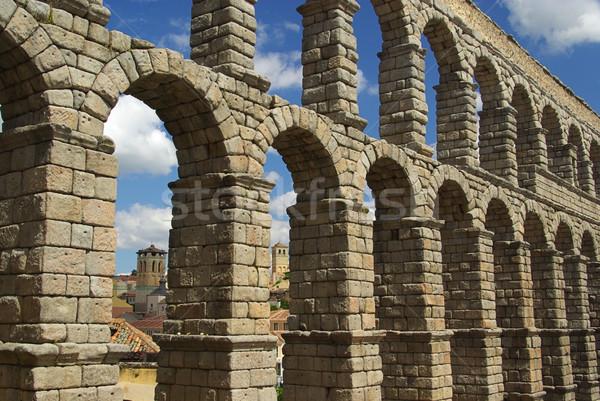 Segovia Aqueduct  Stock photo © LianeM