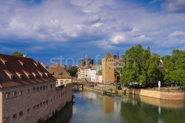 Commanderie St. Jean in Strasbourg, Alsace Stock photo © LianeM