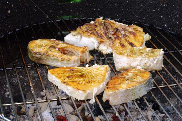 Griller steak poissons 19 Photo stock © LianeM