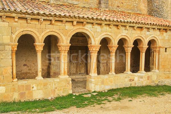 Caracena church 01 Stock photo © LianeM