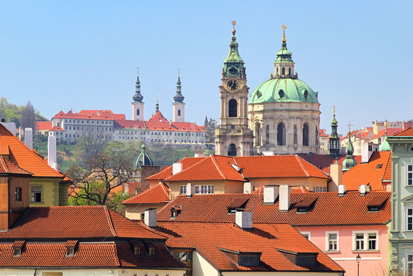 Prague St. Nicholas Cathedral 01 Stock photo © LianeM