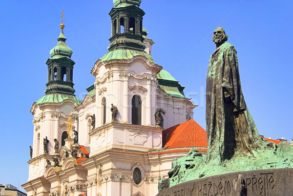 Prague St. Nicholas Cathedral 02 Stock photo © LianeM