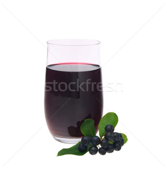 aronia juice 05 Stock photo © LianeM