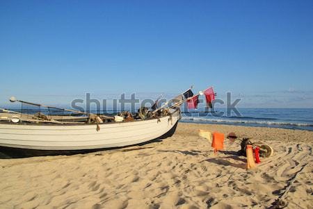 fishing cutter on the beach 17 Stock photo © LianeM
