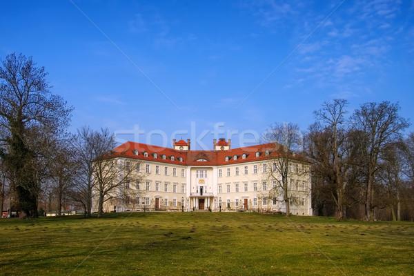 Luebbenau castle in Brandenburg Stock photo © LianeM