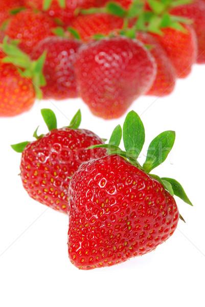 strawberry isolated 08 Stock photo © LianeM