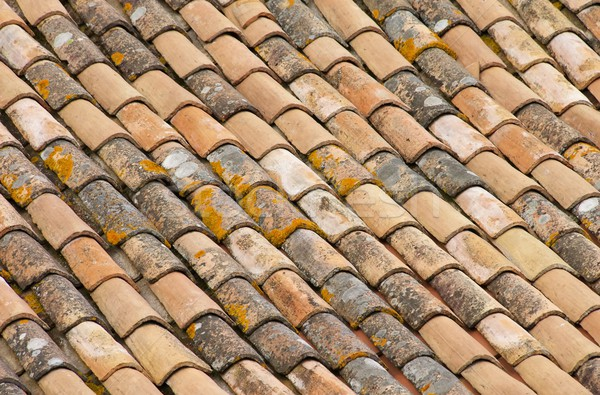 Stock photo: roofing tile 34