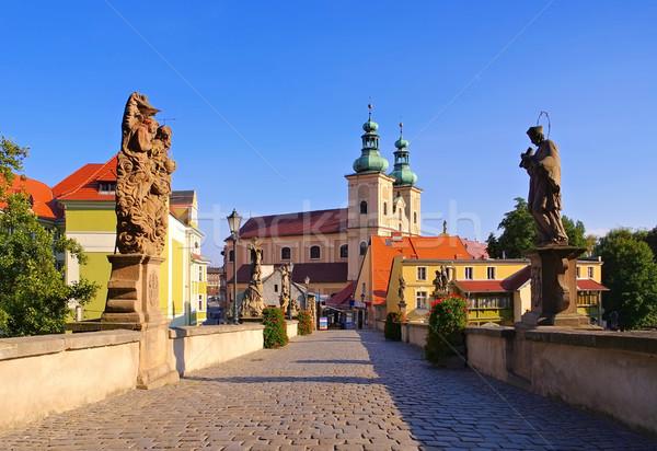 Stock photo: St. Johns Bridge, Klodzko (Glatz), Silesia, Poland