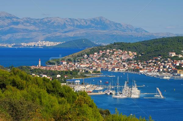 town Trogir in Dalmatia Stock photo © LianeM