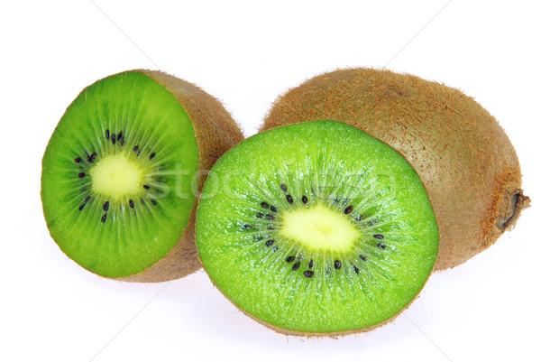 Kiwi 14 natuur vruchten tropische eten Stockfoto © LianeM