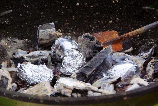 barbecue potato 03 Stock photo © LianeM