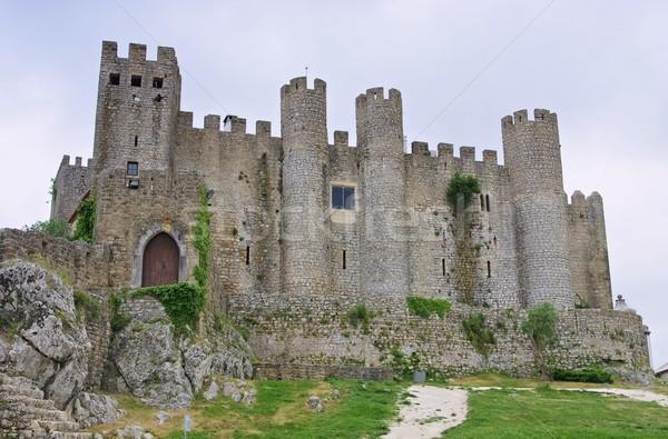 Obidos castle 04 Stock photo © LianeM