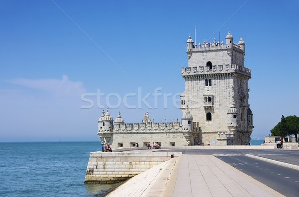 Lisbon Torre de Belem 04 Stock photo © LianeM