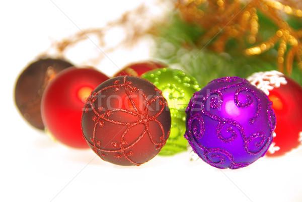 christmas ball isolated 17 Stock photo © LianeM