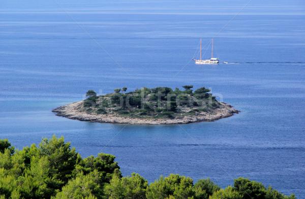 Murter island before the island 30 Stock photo © LianeM