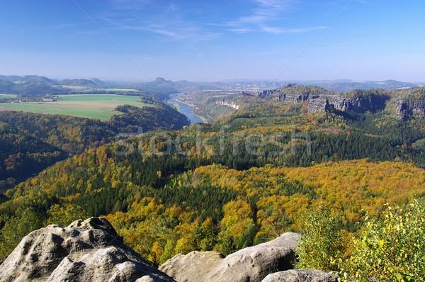 viewpoint Kipphornaussicht   Stock photo © LianeM