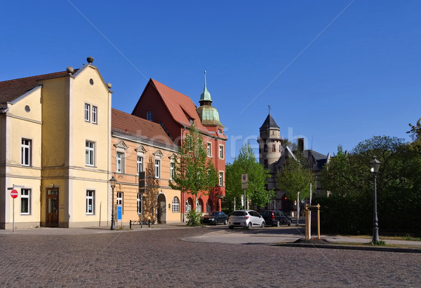Wittenberg, the old town Stock photo © LianeM