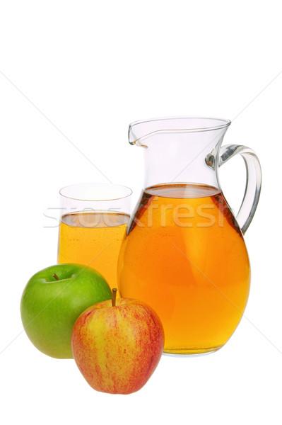 リンゴジュース ワイン 背景 緑 ドリンク 熱帯 ストックフォト © LianeM