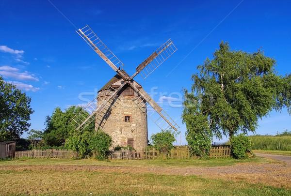 Endorf Windmill  Stock photo © LianeM