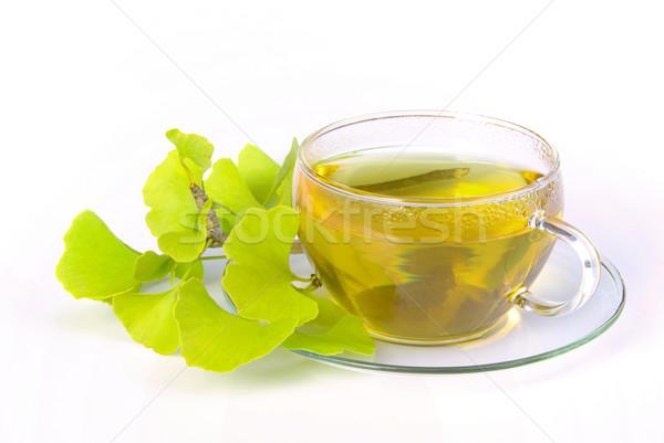 tea ginkgo 05 Stock photo © LianeM