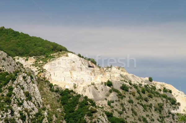 Carrara  marble stone pit 06 Stock photo © LianeM