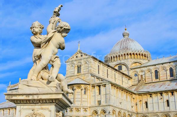 Pisa cathedral 10 Stock photo © LianeM