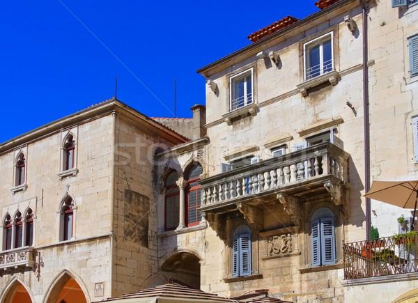 Split balcony  Stock photo © LianeM