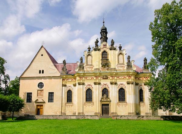 Mnichovo Hradiste convent 03 Stock photo © LianeM