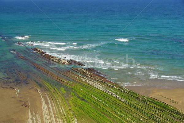 Costa Vasca near Zumaia 11 Stock photo © LianeM
